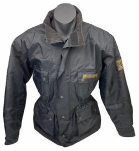 Dririder Alpine Motorcycle Biker Jacket Black Mens Sz S