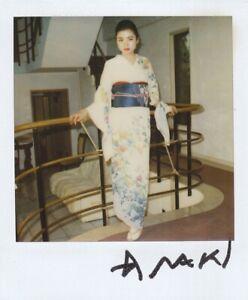 Araki Nobuyoshi Polaroid 75_040 signed