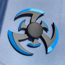 Fidget Finger Spinner Hand Spin Bearing Focus Flame blue style