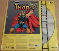 el poderoso IL MITICO THOR volume 1 LASER DISC 1991 italiano + español laserdisc