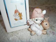 Precious Moments Babys 1st First Christmas Ornament 2012 Girl/Deer