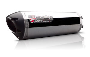 2013 CBR 250R Two Brothers Polished Slip On Exhaust SILVER 2011 2012 CBR250R