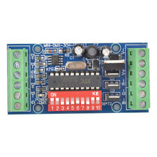 MINI 3CH dmx LED Controller,RGB dmx512 decoder for LED strip light DC5V-24