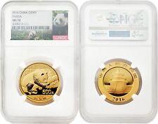 2016 China 30 gram Gold Panda NGC MS70 SKU#4512