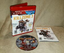 Killzone 3 - Greatest Hits Edition (Sony PlayStation 3 PS3, 2011)