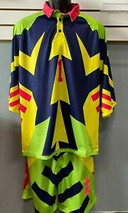 Jorge Campos Soccer Uniform  VINTAGE surfer 90's retro soccer