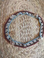 Xhosa Beaded Headband Vintage African Fengo