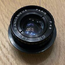 Lentille Objectif Lens ❤️ P.ANGENIEUX Paris - G10 F 48 mm 1:4 Agrandisseur