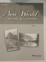 ABeka New World History & Geography Grade 6 Student Test Booklet (4th ed, 2012)