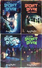 Lot of 4 Secret Seven: Win Through, Well Done, Go Ahead, 1st book VGC PB