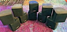 5 Bose Lifestyle Acoustimass Surround Satellite Double Cube Speakers TESTED ~ 5x
