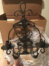 Southern Living at Home SHERWOOD SCONCE New in Box Estate Iron