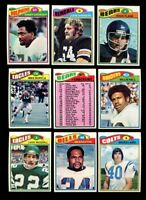 1977 TOPPS FOOTBALL NEAR COMPLETE SET 370/528 MINT *137111