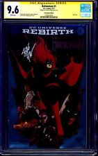 Batwoman #1 CONVENTION FOIL VARIANT CGC SS 9.6 signed by Steve Epting REBIRTH