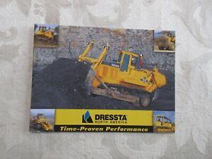 Dressta Mini Full Line Brochure 2007