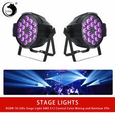 2pcs U`King  4 in1 LED Par Stage Light 270W DMX 512  RGBW DJ Disco Party Wedding