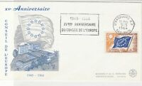France 1964 25th Anniv. of European Council FDC Stamps Cover ref R18691