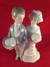 Retired Lladro Figurine Wedding #4808 Julio Fernandez