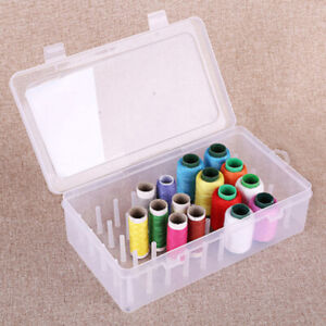 42 Axis Sewing Threads Box Transparent Needle Wire Storage Organizer ContaiZZIT