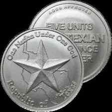 2014 Republic Of Texas R U A TEXIAN paraDIME 1/10 oz .999 SIlver USA Made Round