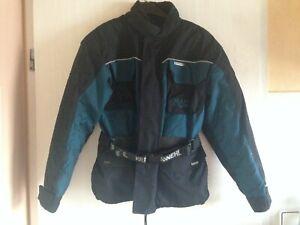 Krawehl Mallow Motorradjacke Textil Damen Gr. S/M (36/38) schwarz/petrol