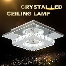 Modern LED Flush Ceiling Light Pendant Fixture Lighting Crystal Chandelier Lamp