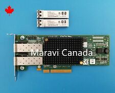 Emulex LPE12002 PCIe Dual 2-Port 8GB Fiber Chanel FC HBA Adapter HP IBM Dell LP
