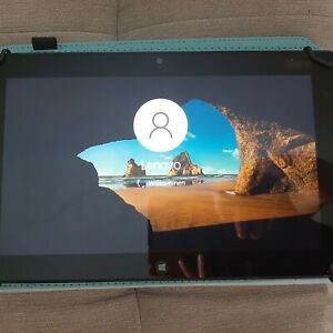 Lenovo ThinkPad Tablet 2 64GB 10,1 Zoll Windows 10 Schwarz ideal für Home Office