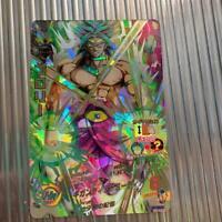 Super DRAGON BALL HEROES Broly H7-SEC2 Card Super Saiyan Bandai Ex+ JP