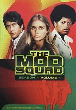 THE MOD SQUAD // SEASON 1 VOL 1 //  PEGGY LIPTON , USED 4DVD SET // MICHAEL COLE