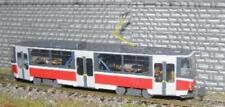 Ätzmessingbausatz Straßenbahn+ Beiwagen Tatra TT 1:120