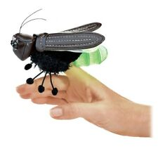 FIREFLY Finger  Puppet # 2728  ~ He Lights Up~ FREE SHIP/USA ~ Folkmanis Puppets