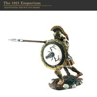1:32 Conte Collectibles Painted Bronze Age Spartan Greek Hoplite Figure SP-0001
