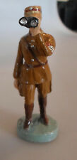 prewar Lineol standing german SA soldier with field glasses WWII