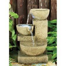 DW8127 - Villa Fortino Cascading Garden Fountain w/Pump & LED Lighting