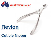 Revlon Stainless Steel Nail Nippers Clippers Cutter Cuticle Full Jaw Manicure