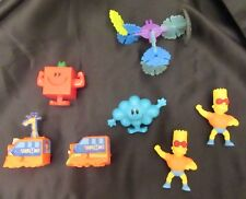 Burger King -  Wendy's -  Arby's Meal Figurines ( Lot of 7)