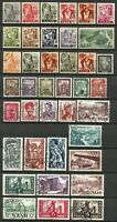 Germany Saar French Occupation 1947-1952 Mint/Used - Collection Definitives