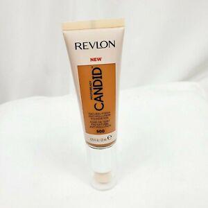 Revlon Candid Photoready Natural Finish Foundation Almond 500 Unsealed