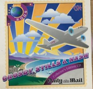 CROSBY, STILLS & NASH - Collector's Edition CD 2005 Daily Mail Exc Cond!