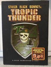 Tropic Thunder (DVD 2008 2-Disc Director's ) RARE WAR COMEDY BRAND NEW  W COVER