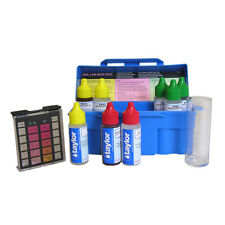 Taylor K-1004 Trouble Shooter Complete Swimming Pool Spa DPD 5 Way Test Kit New
