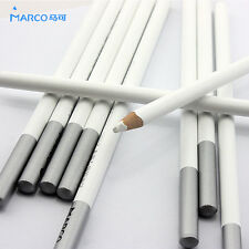 2pcs Marco White Art Artist Pencils Sketch Craft Drawing Charcoal Crafts School