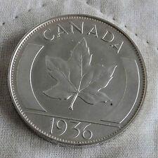 EDWARD VIII CANADA 1936 HALLMARKED SILVER PROOF PATTERN CROWN