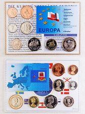 Kursmünzensatz Gibraltar - Noppenfolie - unzirkuliert 8 Münzen