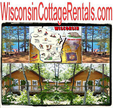 Wisconsin Cottage Rentals .com  Cabin Cottages Oshkosh  Rental Lease Week Month