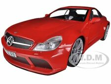 MERCEDES SL65 AMG BLACK SERIES (R230) RED 1/18 DIECAST MODEL BY MOTORMAX 79161