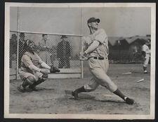 1945 Orig DODGER Press Photo - Dodgers Open Spring Training