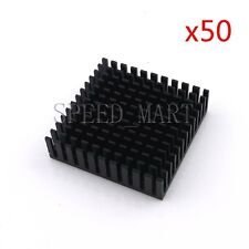 50pcs Heat Sink for CPU Router Electronic LED Power Transistor (40*40*11mm)