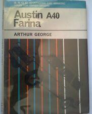 AUSTIN A40 FARINA ILLUSTRATED CAR SERVICING BOOK